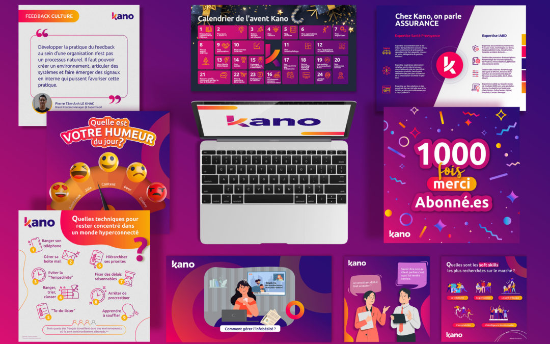 How Feazer help Kano Consulting with its graphic design needs since 2020